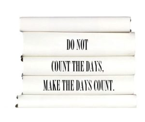 do-not-count-the-days-make-the-days-count.